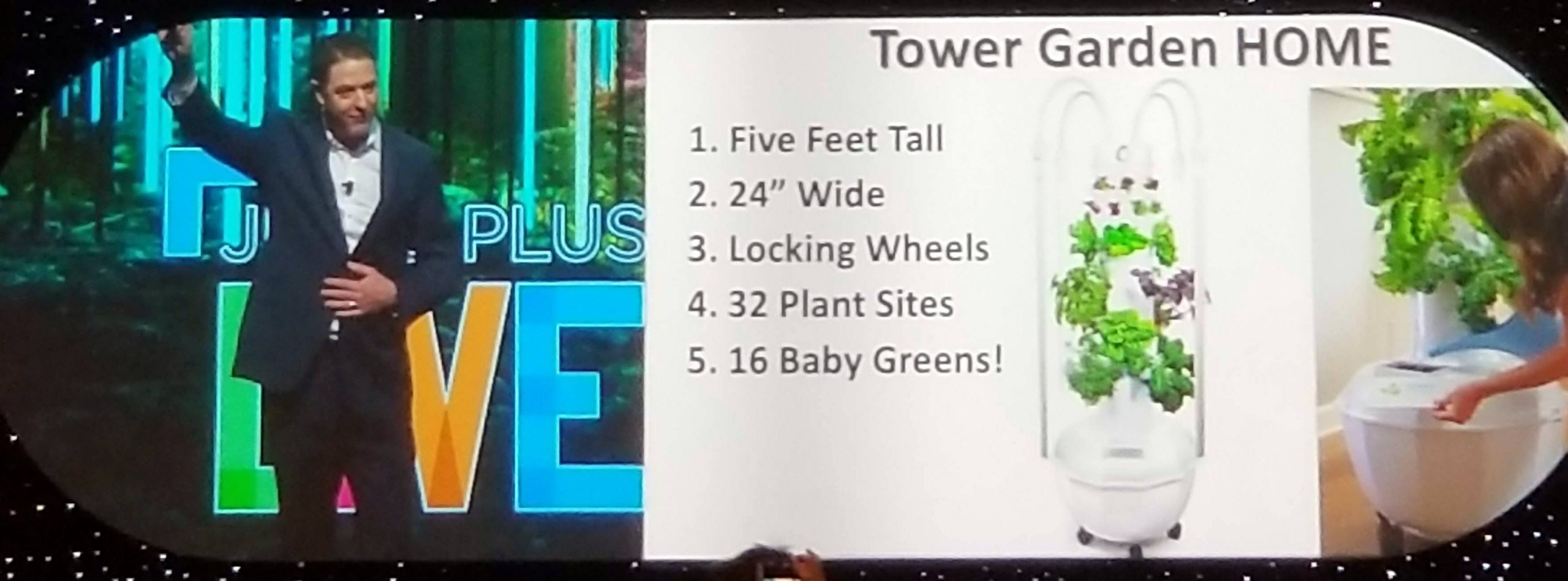 New Tower Garden HOME!