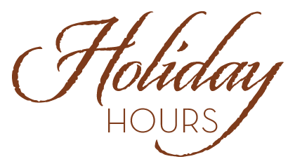 Greenhouse & Shipping Schedule during Holidays