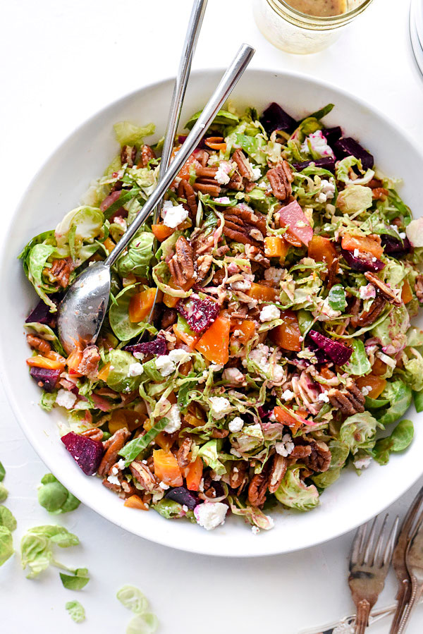 Brussels-Sprouts-Beets-and-Goat-Cheese-Salad