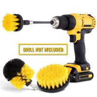 Drill Brushes to clean Tower Gardens
